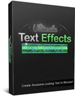UltimateTextEffects puo2 Ultimate Text Effects PSD Bundle