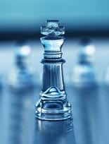 Chess King- Business Concept Series – Competition, Leadership, C