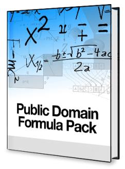 PublicDomainFormulaPack