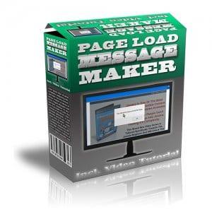 PageLoadMessageMaker