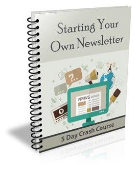 StartYourOwnNewsletter_plr