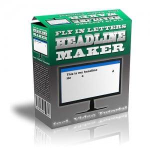 FlyInLettersHeadlineMaker