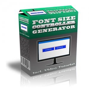Font_Size_Controller_Generator