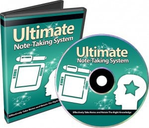 UltimateNote-TakingSystem