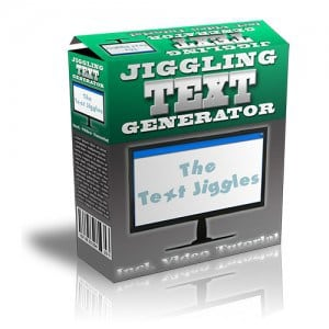 JigglingTextGenerator
