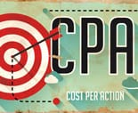 CPA Concept. Poster in Flat Design.