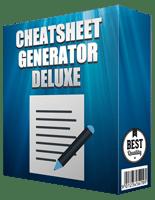 1PageCheatsGenDelux p 1 Page Cheatsheet Generator Deluxe