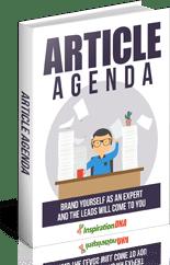 ArticleAgenda mrr Article Agenda