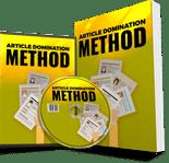 ArticleDominationMethod plr Article Domination Method