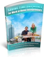 SavingTimeMoney plr Saving Time And Money