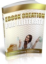 EbookCreationIllit plr Ebook Creation For Illiterate