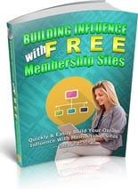 InfluencFreeMemb plr Influence With Free Membership Sites