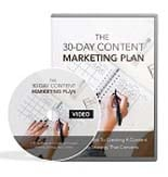 30dContMrktngPlanVids mrr 30 Day Content Marketing Plan   Video Upgrade