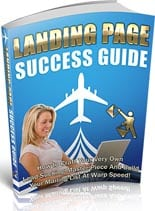 LandPageSuccGuide plr Landing Page Success Guide