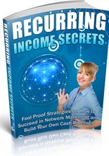 RecurringIncomeSecrets plr Recurring Income Secrets