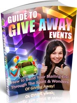 GuideGiveAwayEvents plr Guide To Give Away Events