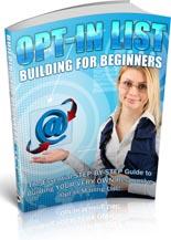 OptInListBuildBegnrs plr Opt In List Building For Beginners