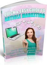 QuickArticleMarketing plr Quick And Easy Article Marketing