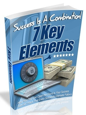 The 7 Key Elements Every Marketer Follows The 7 Key Elements Every Marketer Follows