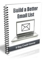 BldBttrEmailList plr Build A Better Email List