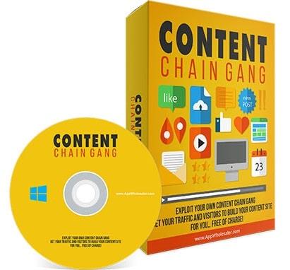 Content Chain Gang System Content Chain Gang System