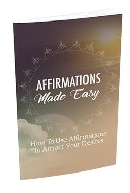 Affirmations Made Easy Affirmations Made Easy