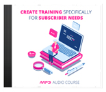 CreateTrainingSubNeeds mrrg Create Training Specifically For Subscriber Needs