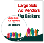 LargeSoloAdVendors plr Large Solo Ad Vendors And List Brokers