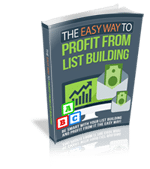 EzWayPofitLstBldng rr The Easy Way to Profit From List Building
