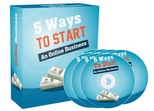 5 Ways To Start An Online Business 5 Ways To Start An Online Business