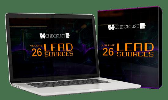 IMChecklistsLeadSources p IM Checklists Lead Sources