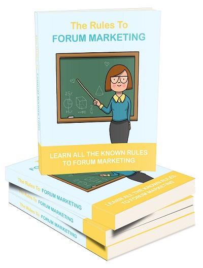 TheRulesForumMarketing mrr The Rules To Forum Marketing