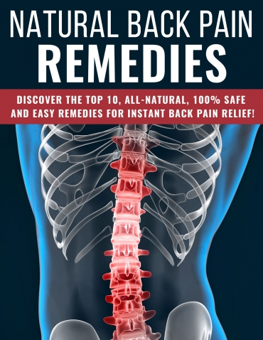 Natural Back Pain Remedies Natural Back Pain Remedies
