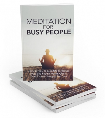 MeditationForBusyPeople Meditation For Busy People
