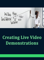 CreatingLiveDemos plr Creating Live Demonstrations