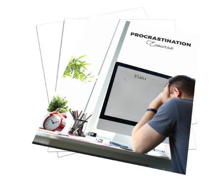 ProcrastinationEcourse plr Procrastination Ecourse