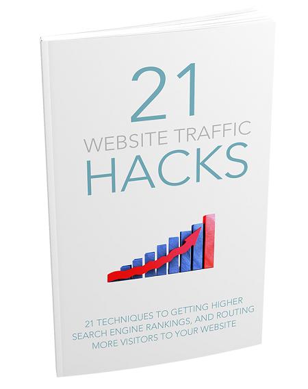 21WebTrafficHacks mrr 21 Website Traffic Hacks