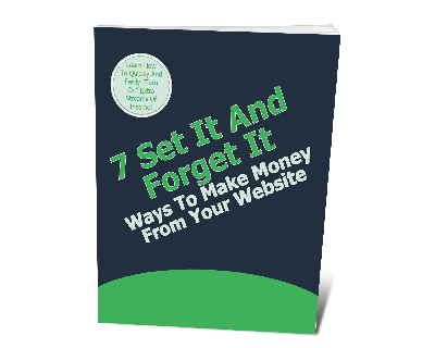 7SetItMrMnyWeb plr 7 Set It And Forget It Ways To Make More Money With Your Website