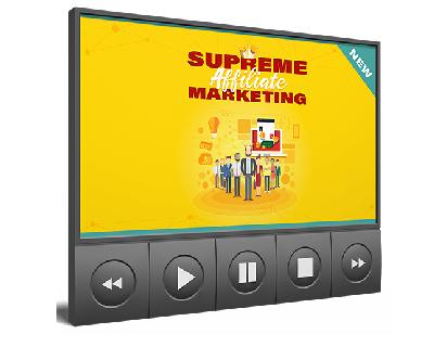 SuprmeAffMrktngVIDS mrr Supreme Affiliate Marketing Video Upgrade