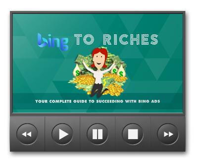 BingToRichesVIDS mrr Bing To Riches Video Upgrade