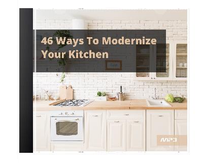 46WaysMdrnzeKitchen mrr 46 Ways To Modernize Your Kitchen