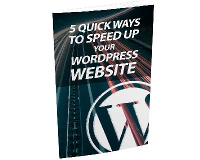 5QckWysSpdWrdPrssSt mrr 5 Quick Ways To Speed Up Your WordPress Website